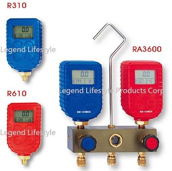 R310&R610 Digital Pressure Gauge / RA3600 Digital Manifold sets